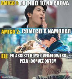 Quero assitiiiiir Boys Over Flowers, Noah Meme, Kdrama, K Pop, Best Dramas, Park Hyung Sik, Chanbaek, Namjin, Fujoshi