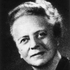 """Ida Noddack was the first person to hypothesize that when an atom's nucleus is bombarded with neutrons """"it is conceivable that the nucleus breaks up into several large fragments, which would of course be isotopes of known elements but would not be neighbors of the irradiated element."""" In other words: nuclear fission."""