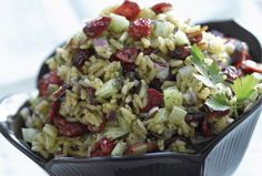 Long Grain and Wild Rice Salad.