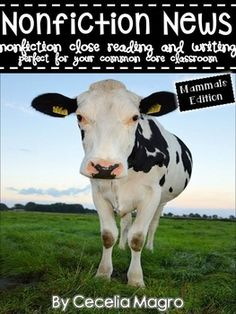 *This product is part of a GROWING BUNDLE. You can save big money if you buy this product in the bundle. Check it out here!*This 137 page product is what you need to implement ELA Common Core Standards in your classroom. It includes 13 nonfiction articles, 3 books, 1 chart for close reading on mammals.