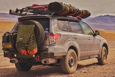 Subaru Forester rear/front bumper build (pics) | American Adventurist