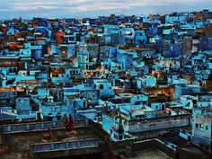 India. Jodhpur Rajasthan. 2010. Blue City. ( @SteveMcCurryOfficial/ #MagnumPhotos) by magnumphotos