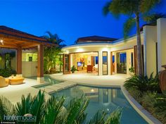 Nestled in one of Noosa's most popular getaway spots is 54 Coast View Parade, in Doonan, Queensland, a luxurious four-bedroom award-winning property with coastal views