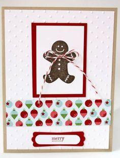 Scentsational Season Gingerbread Man Christmas Card