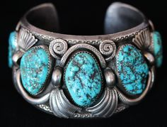 RARE JIMMY VICTOR BEGAY NAVAJO STERLING SILVER TURQUOISE VINTAGE CUFF BRACELET. Free shipping and guaranteed authenticity on RARE JIMMY VICTOR BEGAY NAVAJO STERLING SILVER TURQUOISE VINTAGE CUFF BRACELET at Tradesy. JIMMY VICTOR BEGAY  Navajo silversmith Jimmy Vic...