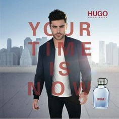 Zac Efron в рекламной кампании HUGO BOSS