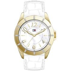 Tommy Hilfiger - Ladies Sophia White Leather Watch - 1781042 - RRP: £125.00 - Online Price: £75.00