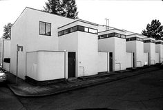 Jacobus Johannes Pieter Oud, Weißenhofsiedlung, row houses  Stuttgart, Germany 1927
