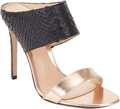 Gianvito Rossi Diane Double-Band Mules on shopstyle.com