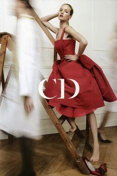 highflyingfashion:  Vogue Dior SupplementSeptember 2012Photographer: Patrick DemarchelierModels: Daria StrokousStylist: Katie Grand