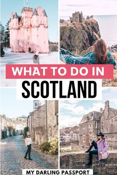 How to plan a short trip to Scotland. The must see spots! A quick and easy Scotland travel guide, and tips to take pretty photos. Scotland Travel Guide, Scotland Road Trip, Europe Travel Guide, Ireland Travel, Travel Guides, Italy Travel, Ireland Vacation, Croatia Travel, Cool Places To Visit