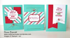 Stampin' Up! Merry Little Christmas Simply Created Card Kit Ideas