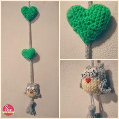 Colgante de crochet by Sie ♥