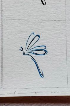 Dragonfly Illustration, Dragonfly Drawing, Dragonfly Art, Watercolor Fox, Watercolor Video, Watercolor Painting Techniques, Cute Easy Drawings, Art Drawings Beautiful, Calligraphy Flowers