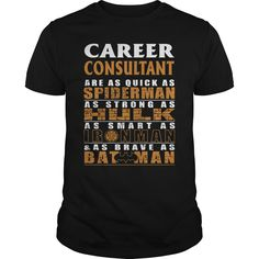 CAREER CONSULTANT Are as Like as Spiderman Hulk Ironman Batman T-Shirts, Hoodies. Get It Now ==> https://www.sunfrog.com/LifeStyle/CAREER-CONSULTANT--BATMAN-Black-Guys.html?id=41382