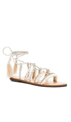 2a8e8947958 Shop for Schutz Jolina Sandal in Pearl at REVOLVE. Free 2-3 day shipping