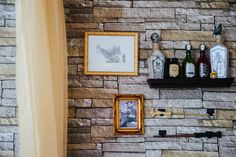 Or hang some potions on the wall. In my kitchen during halloween