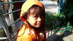 """My lil sister """"aira"""" so cute right?! ^^"""