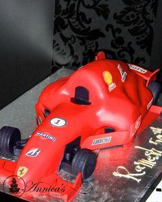 F1 designer cake by Annica's