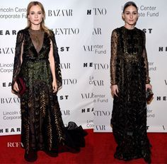 A lovely list of fashionables were in attendance for 'An Evening Honoring Valentino' black-tie gala at Lincoln Center's Alice Tully Hall in New York City o