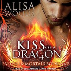 """Another must-listen from my """"Kiss of a Dragon: Fallen Immortals Series, Book by Alisa Woods, narrated by Joe Arden. Five Hundred, Set Me Free, Two Brothers, Listening To You, Book 1, Book Format, Audio Books, Science Fiction, Beautiful Men"""