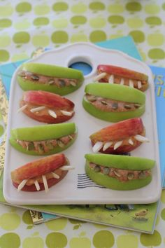 These nutty teeth are a delicious snack for kids and adults alike. They make a great afternoon snack, lunchbox treat or quick bite-on-the-run.