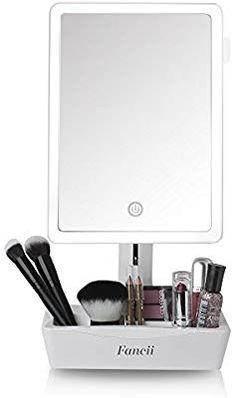 New Fancii LED Lighted Large Vanity Makeup Mirror Magnifying Mirror - Dimmable Natural Light, Touch Screen, Dual Power, Adjustable Stand Cosmetic Organizer - Gala online shopping - Topusashoppingsites Luz Natural, Natural Light, Led Makeup Light, Magnifying Mirror, Unicorn Makeup, Standing Mirror, Highlighter Makeup, Mirror With Lights, How To Apply Makeup