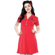 Sourpuss Rosie Songbird Dress