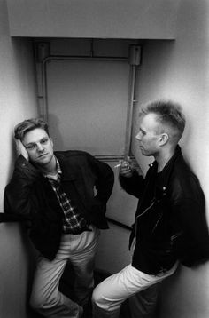 Photo of Vince CLARKE and Andy BELL and ERASURE Andy Bell Vince Clarke