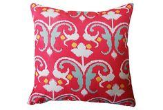 Reinvent 20x20 Outdoor Pillow, Pink on OneKingsLane.com
