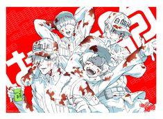 Read from the story Xả ảnh Hataraku Saibou by (Lu Ngáo) with 621 reads. Me Me Me Anime, Anime Guys, Manga Anime, Anime Art, Otaku, Little Poni, White Blood Cells, Fanart, Yandere