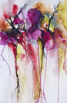 """""""Fallen Flowers"""" by Karin Johannesson, Waterloo, Ontario // Abstract flowers // Imagekind.com -- Buy stunning fine art prints, framed prints and canvas prints directly from independent working artists and photographers."""