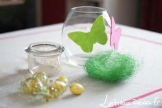 Bougie Partylite, décoration, papillon, paques, clearly creative ❇❇ visitez mon blog www.letiziadeco.fr ❇❇