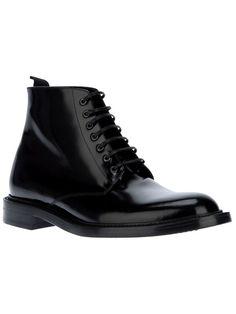 Saint Laurent Lace Up Army Boot $812