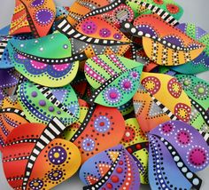 My Process . This Time. – The Flying Squirrel Studio Polymer Clay Canes, Polymer Clay Projects, Polymer Clay Jewelry, Clay Crafts, Polymer Beads, Rock Crafts, Arts And Crafts, Magnetic Drawing Board, Flying Squirrel