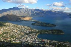 Picture of Queenstown, New Zealand in Summer
