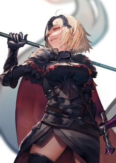 Jeane D Arc, Joan Of Arc Fate, Kara No Kyoukai, Jeanne Alter, Naruto Minato, Fate Anime Series, Altered Images, Best Waifu, Type Moon