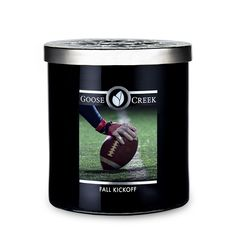 Fall Kickoff Large Jar Candle Fall Candles, Aromatherapy Candles, Fall Pumpkins, Candle Making, Candle Jars, Football Stuff, Green Grass, Starters