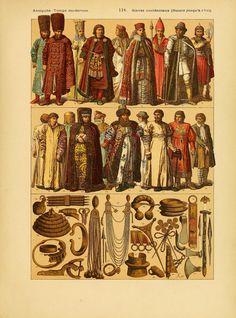 Le costume, les armes, les bijoux, la céramique... Film Dance, Court Dresses, Vintage World Maps, Fancy, Costumes, Antiques, Illustration, Painting, Europe