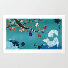 Autumn Art Print by Serena Rocca - $18.00