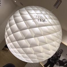 Patera Suspension Light by Louis Poulsen on display in the Innes Gallery http://www.innes.co.uk/patera-suspension-light-by-louis-poulsen-oivind-slaatto-halogen.html