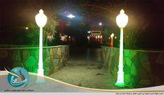 پایه چراغ و تیر نورانی برای جشن عروسی و نامزدی ، باغ تالار و مراسم تشریفات