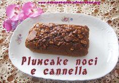 plumcake #senza glutine, #senzalatte, #senzalievito con cacao, cannella, noci e miele