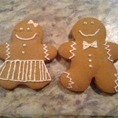 Soft Gingerbread Cookies Allrecipes.com