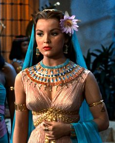 Debra Paget, The Ten Commandments (1956).