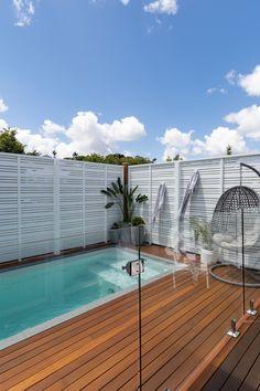 Backyard Pool Landscaping, Backyard Pool Designs, Swimming Pools Backyard, Pool Spa, Small Backyard Landscaping, Backyard Ideas, Inground Pool Designs, Swimming Pool Designs, Pools For Small Yards