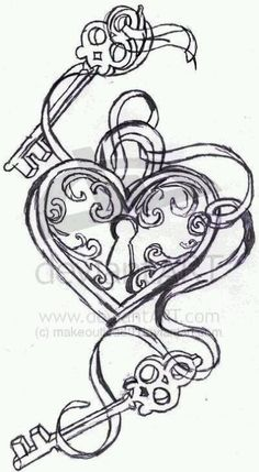 cant wait till i get this tattoo...the keys belong to my two kids and they have the key to my heart