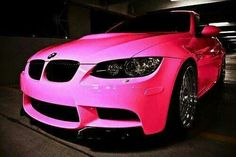 #pink #bmw in my dreams