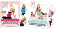 """The path to regaining your pre-baby body begins during pregnancy. """"Prenatal: Pilates-infused workouts"""" from Knocked-Up Fitness is designed to help keep expecting moms active and fit through all stages of pregnancy. Also available: """"After Baby: From Knocked-Up to Knock Out"""" featuring 10 workouts that focus on toning, sculpting and conditioning your entire body, with an emphasis on strengthening your pelvic floor and deep core muscles. Visit www.knocked-upfitness.com."""
