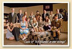 """Cast of """"It's Murder in the Wings"""""""